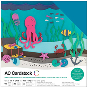 Jewel - American Crafts Variety Cardstock Pack