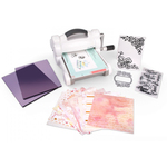 White & Gray - Sizzix Big Shot Starter Kit Inspired By David Tutera