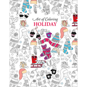 Art Of Coloring Holiday - Leisure Arts