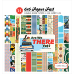 Are We There Yet 6 x 6 Paper Pad - Carta Bella
