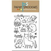 """Courteous Cuties - Paper Smooches Clear Stamps 4""""X6"""""""
