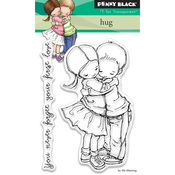 """Hug - Penny Black Clear Stamps 3""""X4"""""""