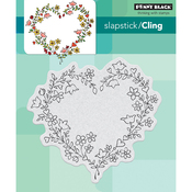 """Sweetheart - Penny Black Cling Stamp 4""""X4"""""""