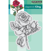 """Red Blush - Penny Black Cling Stamp 4""""X4.5"""""""