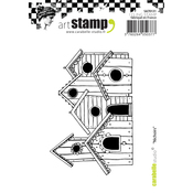 Bird House - Carabelle Studio Cling Stamp A7