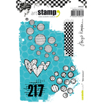Mini Textures - Carabelle Studio Cling Stamp A6