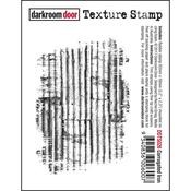 """Corrugated Iron - Darkroom Door Cling Stamp 3""""X2"""""""
