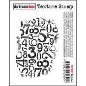 """Numbers - Darkroom Door Cling Stamp 3""""X2"""""""