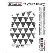 """Triangles - Darkroom Door Cling Stamp 3""""X2"""""""