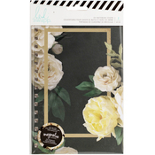 "Magnolia Jane Double-Sided Floral - Heidi Swapp Journal Notebook Covers 8.5""X5.5"" 2/Pkg"