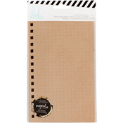 "Magnolia Jane Kraft - Heidi Swapp Journal Inserts 8.435""X5"" 50/Pkg"