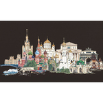 Moscow On Aida Counted Cross Stitch Kit