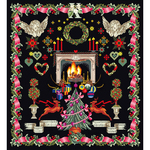 "19.5""X21"" 18 Count - Christmas Design On Aida Counted Cross Stitch Kit"
