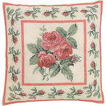 """13.75""""X13.75"""" 12 Count - Rose Bouquet On Aida Counted Cross Stitch Kit"""