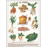 "14""X19.25"" 18 Count - La Soup On Aida Counted Cross Stitch Kit"