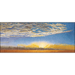 "5.75""X13.75"" 18 Count - Sky Study VI On Aida Counted Cross Stitch Kit"