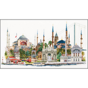 """31""""X19.5"""" 18 Count - Istanbul On Aida Counted Cross Stitch Kit"""