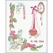 """9.5""""X13.25"""" 16 Count - May On Aida Counted Cross Stitch Kit"""