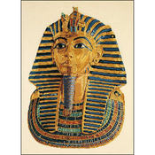 "13.75""X17.75 18 Count - Tutankhamen Small On Aida Counted Cross Stitch Kit"