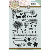 Springtastic - Find It Trading Yvonne Creations Clear Stamps