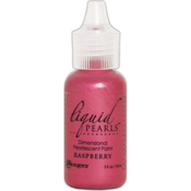 Raspberry - Liquid Pearls Dimensional Pearlescent Paint .5oz