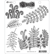 """Oodles Of Foliage - Dyan Reaveley's Dylusions Cling Stamp Collections 8.5""""X7"""""""