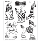 """Puppy Dog Tales - Dyan Reaveley's Dylusions Cling Stamp 8.5""""X7"""""""