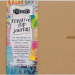 "Dyan Reaveley's Dylusions Creative Flip Journal - Kraft 12""X8.5"""