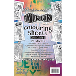 Dyan Reaveley's Dylusions Coloring Sheets #2