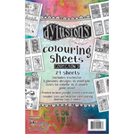Dyan Reaveley's Dylusions Coloring Sheets #3