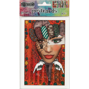 """Set #2 - Dyan Reaveley's Dylusions Postcard Images 4""""X6"""""""