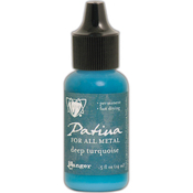 Deep Turquoise - Vintaj Patinas .5oz