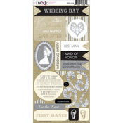 Wedded Bliss Cardstock Stickers