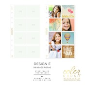 Color Crush A5 Photo Sleeve Pages 8/Pkg