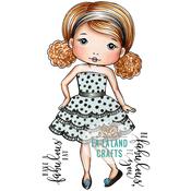 "Fabulous Molli - La-La Land Cling Stamps 4.5""X3.5"""