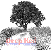 "Country Road - Deep Red Cling Stamp 3""X3"""