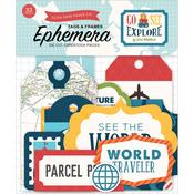 Frames & Tags - Go See Explore Ephemera - Echo Park