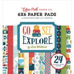 Go See Explore - Echo Park 6 x 6 Paper Pad - Echo Park