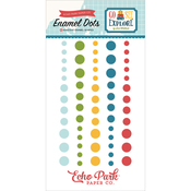 Go See Explore Adhesive Enamel Dots - Echo Park