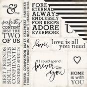 Loving Words - Wedding Bliss  Paper - Echo Park