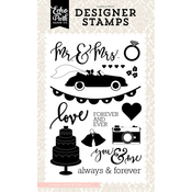 Wedding Bliss, Mr. & Mrs. - Echo Park Stamps