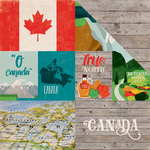 Canada - Around The World  Paper - Echo Park
