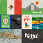 Mexico - Around The World  Paper - Echo Park