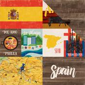 Spain - Around The World  Paper - Echo Park