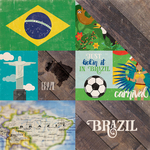 Brazil - Around The World  Paper - Echo Park