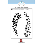 Leaf Snowflake - Quietfire A Way With Words Stencils By Suzanne Cannon