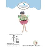 Garden Notes Fairy - Rose Petal - Elizabeth Craft Metal Die By Susan's Garden Club