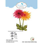 Garden Notes Gerbera Daisy - Elizabeth Craft Metal Die By Susan's Garden Club