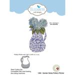 Garden Notes Pottery Pitcher - Elizabeth Craft Metal Die By Susan's Garden Club