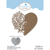 Lace Heart - Elizabeth Craft Metal Die By ModaScrap Designs